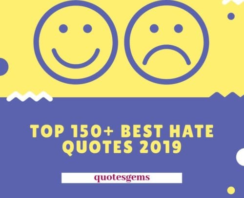 Top 150 Best Haters Quotes 2019