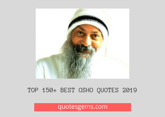 Best Osho quotes 2019