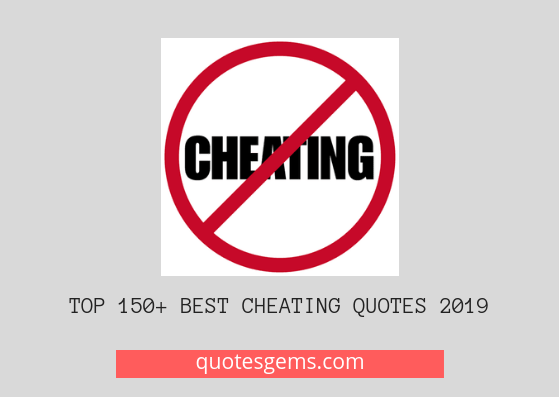 Top 1275+ Cheating Quotes 2020 In English/Hindi (Updated)