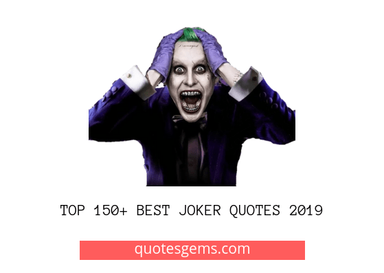 Best Joker quotes 2019