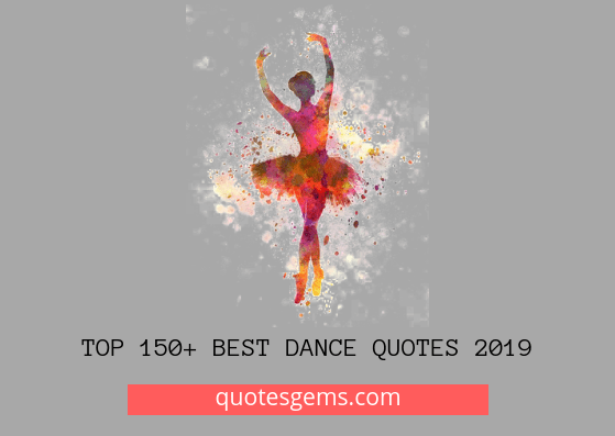 best Dance quotes 2019
