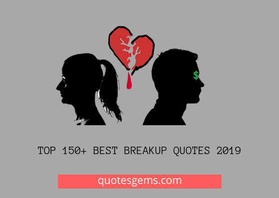 best Breakup quotes 2019