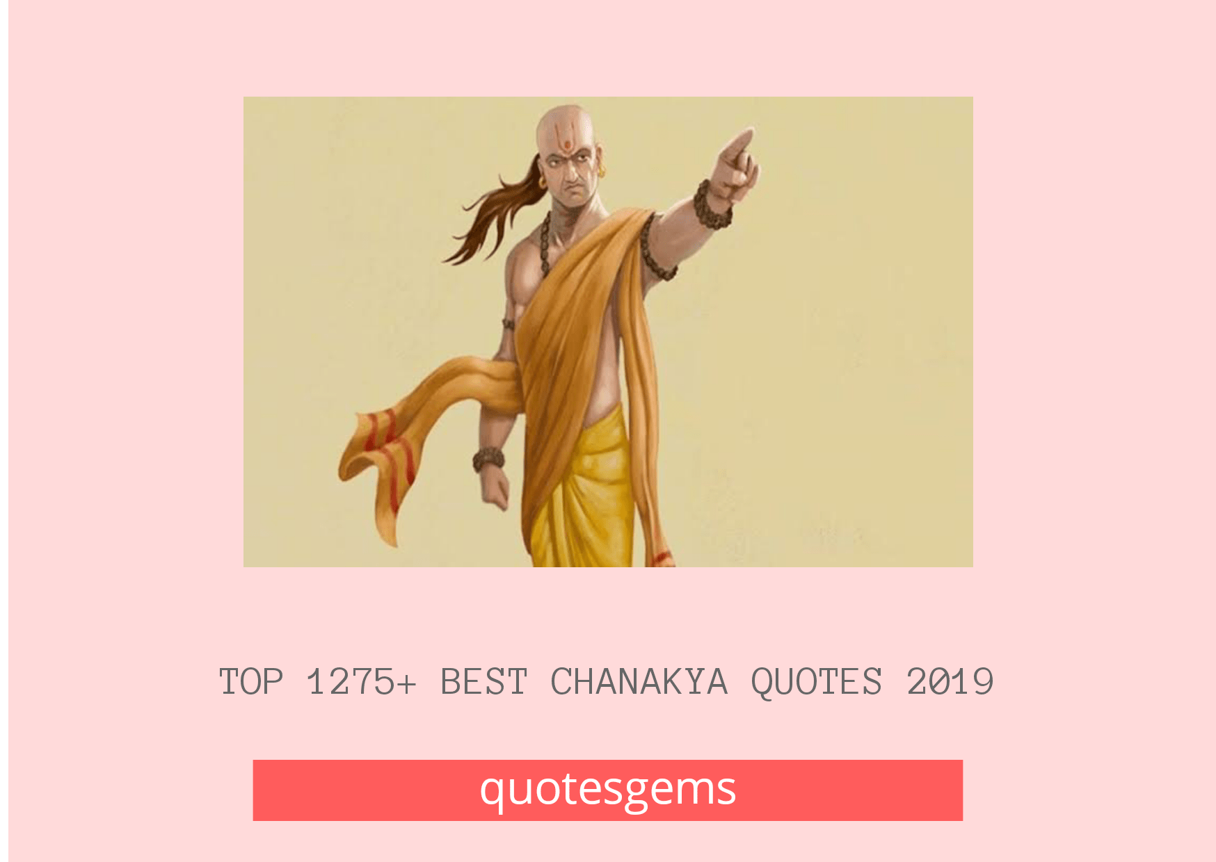 Best Chanakya Quotes 2019