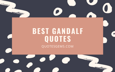 Best Gandalf Quotes