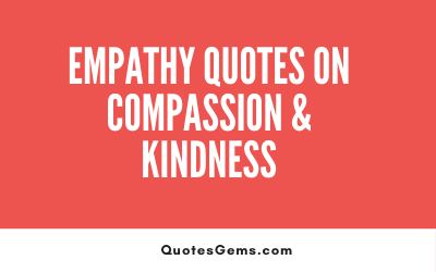 Empathy Quotes On Compassion